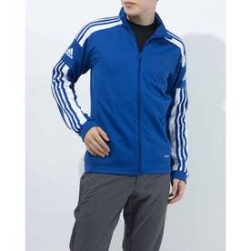 メンズ サッカー/フットサル ジャージジャケット SQUADRA21トレーニングジャケット GP6463 (ブルー)