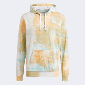 エッセンシャルズ タイダイ インスピレーショナル パーカー / Essentials Tie-Dyed Inspirational Hoodie (オレンジ)