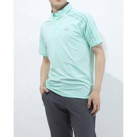 メンズ ゴルフ 半袖シャツ HEAT.RDY 半袖ボタンダウンシャツ GM3616 (グリーン)