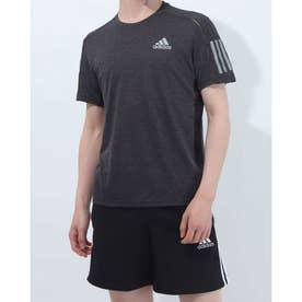 メンズ 陸上/ランニング 半袖Tシャツ OWN THE RUN TEE COOLER M GK6059 (ブラック)