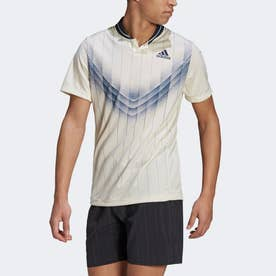 グラフィック テニス ポロシャツ / Graphic Tennis Polo Shirt (ベージュ)