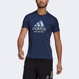 ラン フォー ジ オーシャンズ グラフィック 半袖Tシャツ / Run for the Oceans Graphic Tee (ブルー)
