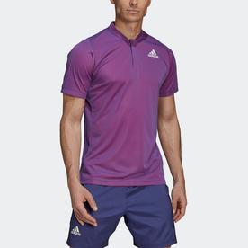 Tennis  テニス PRIMEBLUE フリーリフト ポロシャツ / Tennis Primeblue Freelift Polo Shirt (パープル)