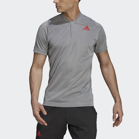 Tennis  テニス PRIMEBLUE フリーリフト ポロシャツ / Tennis Primeblue Freelift Polo Shirt (ホワイト)