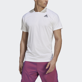 Tennis  Primeblue Freelift Tee (ホワイト)
