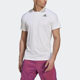 Tennis  Primeblue Freelift Tee (ホワイト)