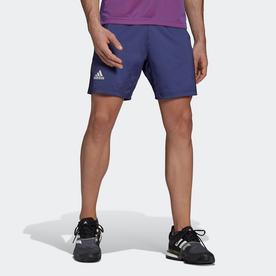 テニス   PRIMEBLUE エルゴ 7インチ ショーツ / Tennis Primeblue Ergo 7-Inch Shorts (パープル)