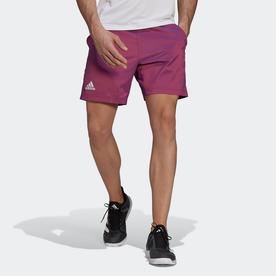 テニス   PRIMEBLUE エルゴ 7インチ ショーツ / Tennis Primeblue Ergo 7-Inch Shorts (レッド)