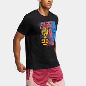 ハーデン アバター スクーター 半袖Tシャツ / Harden Avatar Scooter Tee (ブラック)