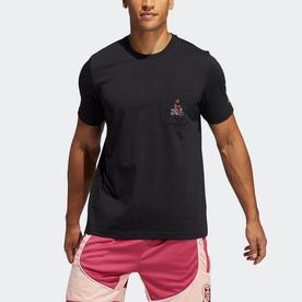 ハーデン アバター ポケット Tシャツ / Harden Avatar Pocket Tee (ブラック)