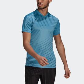 グラフィック テニス 半袖Tシャツ / Graphic Tennis Tee (ブルー)