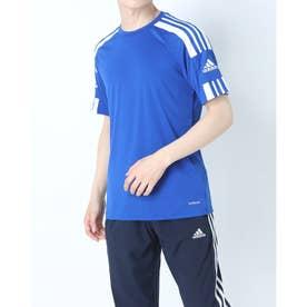 メンズ サッカー/フットサル 半袖シャツ SQUADRA21ジャージーSS GK9154 (ブルー)