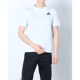 メンズ 半袖機能Tシャツ MD2MPRTシャツ GR0517 (ホワイト)