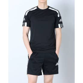 メンズ サッカー/フットサル 半袖シャツ SQUADRA21ジャージーSS GN5720 (ブラック)