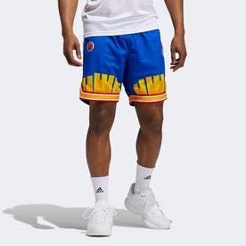 エリック エマニュエル マクドナルド リバース レトロ ショーツ / Eric Emanuel McDonald's Reverse Retro Shorts (ブルー)