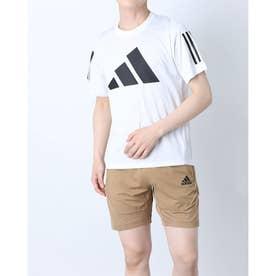 メンズ 半袖機能Tシャツ MFREELIFT3BARLOGOTEE GL8919 (ホワイト)