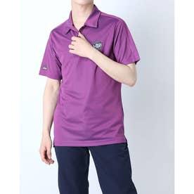 メンズ ゴルフ 半袖シャツ PRIMEBLUE エンブレム 半袖シャツ GL0100 (レッド)