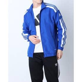 メンズ サッカー/フットサル ピステシャツ SQUADRA21プレゼンテーションジャケット GP6445 (ブルー)