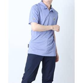メンズ ゴルフ 半袖シャツ PRIMEBLUE エンブレム 半袖シャツ GL9996 (ホワイト)