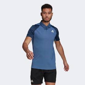 クラブ テニス ポロシャツ / Club Tennis Polo Shirt (ブルー)