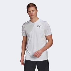 クラブ テニス 3ストライプス 半袖Tシャツ / Club Tennis 3-Stripes Tee (ホワイト)