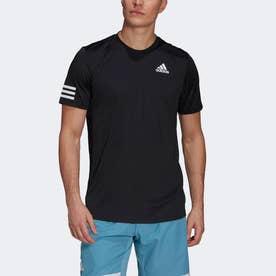 クラブ テニス 3ストライプス 半袖Tシャツ / Club Tennis 3-Stripes Tee (ブラック)