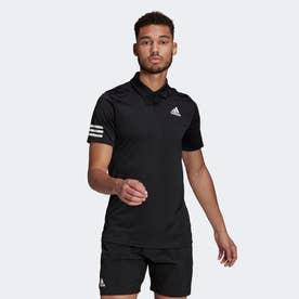 テニス クラブ 3ストライプス ポロシャツ / Tennis Club 3-Stripes Polo Shirt (ブラック)