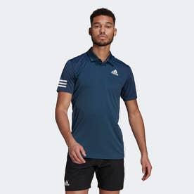 テニス クラブ 3ストライプス ポロシャツ / Tennis Club 3-Stripes Polo Shirt (ブルー)