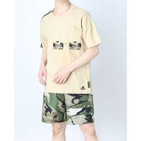 メンズ 半袖Tシャツ MARTISTGRFXTEE GN0770 (ベージュ)
