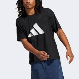 ユナイト 3ストライプス フローラル 半袖Tシャツ(ジェンダーニュートラル)/ Unite 3-Stripes Floral Tee (Gender Neutral) (ブラ