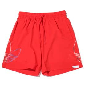 FTO SWIM SHORTS (RED)
