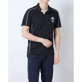 メンズ ゴルフ 半袖シャツ PRIMEBLUE HEAT.RDY 半袖シャツ GL9990 (ブラック)