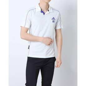 メンズ ゴルフ 半袖シャツ PRIMEBLUE HEAT.RDY 半袖シャツ GL9988 (ホワイト)