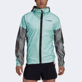 テレックス アグラビック プロ トレイルランニング レインジャケット / Terrex Agravic Pro Trail Running Rain Jacket (グリーン