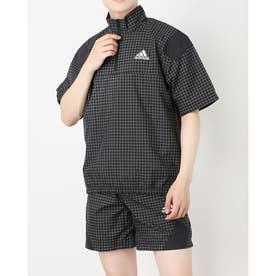メンズ ウインドジャケット MPRIMEBLUETEE GP8656 (ブラック)