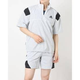 メンズ ウインドジャケット MPRIMEBLUETEE GP8655 (ホワイト)