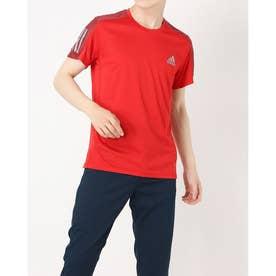 メンズ 陸上/ランニング 半袖Tシャツ OWN THE RUN TEE M GC7872 (レッド)