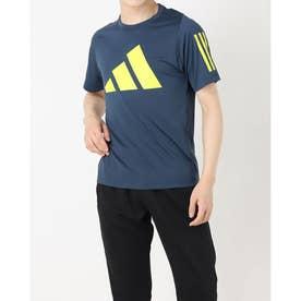 メンズ 半袖機能Tシャツ MFREELIFT3BARLOGOTEE GL8921 (ネイビー)