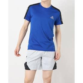 メンズ 陸上/ランニング 半袖Tシャツ OWN THE RUN TEE M FT1431 (ブルー)