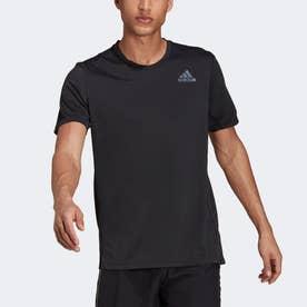 HEAT. RDY ランニング 半袖Tシャツ (ブラック)