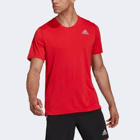HEAT. RDY ランニング 半袖Tシャツ (レッド)