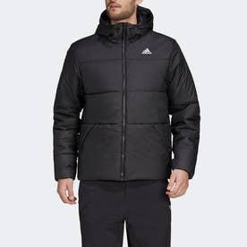 BSC フード付きインサレーテッド ジャケット / BSC Insulated Hooded Jacket (ブラック)