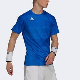 フリーリフト 東京 HEAT.RDY テニス 半袖Tシャツ (ブルー)