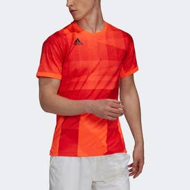 フリーリフト 東京 HEAT.RDY テニス 半袖Tシャツ (レッド)