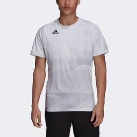 フリーリフト 東京 HEAT.RDY テニス 半袖Tシャツ (ホワイト)