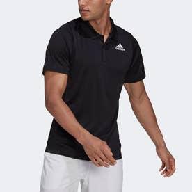テニス フリーリフト ポロシャツ (ブラック)