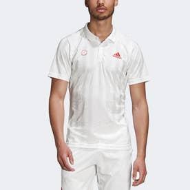 フリーリフト テニス ポロシャツ エンジニアド / FREELIFT TENNIS POLO SHIRT ENGINEERED (ホワイト)