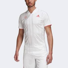 フリーリフト テニス 半袖Tシャツ エンジニアド / FREELIFT TENNIS T-SHIRT ENGINEERED (ホワイト)