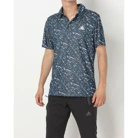 メンズ ゴルフ 半袖シャツ PRIMEBLUE 半袖ジャカードシャツ HD3986 (他)