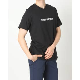 メンズ ゴルフ 半袖シャツ ADICROSS 半袖 グラフィックTシャツ GR5419 (ブラック)